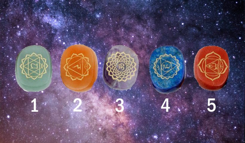 Choose a Crystal to Get a Energy Reading