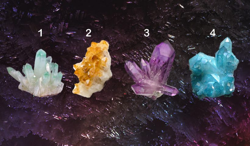 Pick a Crystal to get a Free Psychic Reading