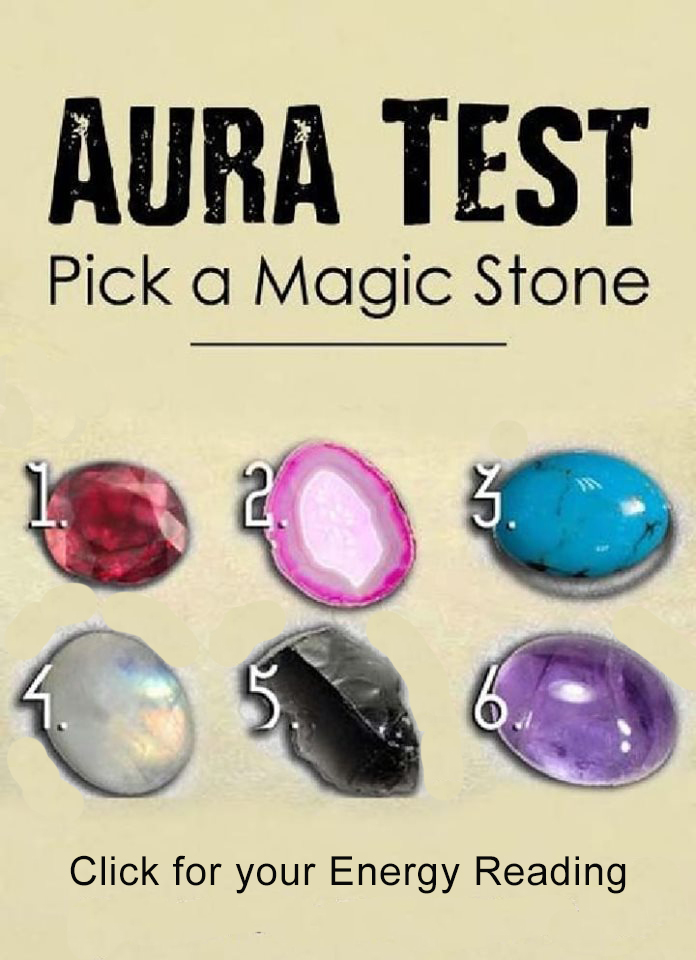 Aura Test, Pick a Magic Stone to Get Energy Reading