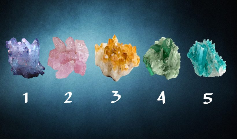 Pick Crystal Rock to Get a Psychic Reading