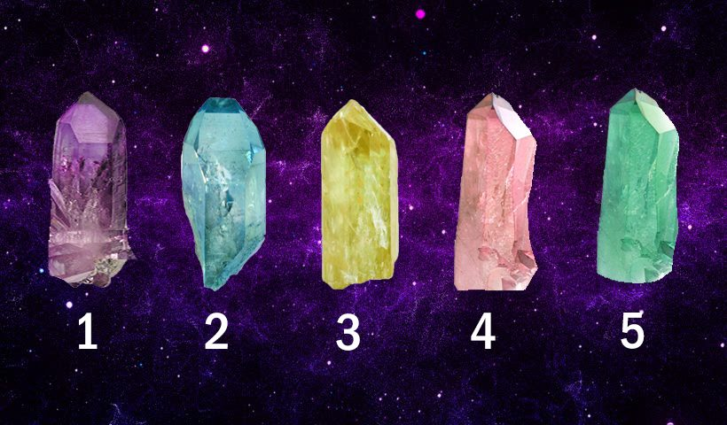 Choose a Crystal To Get Free Prophetic Message
