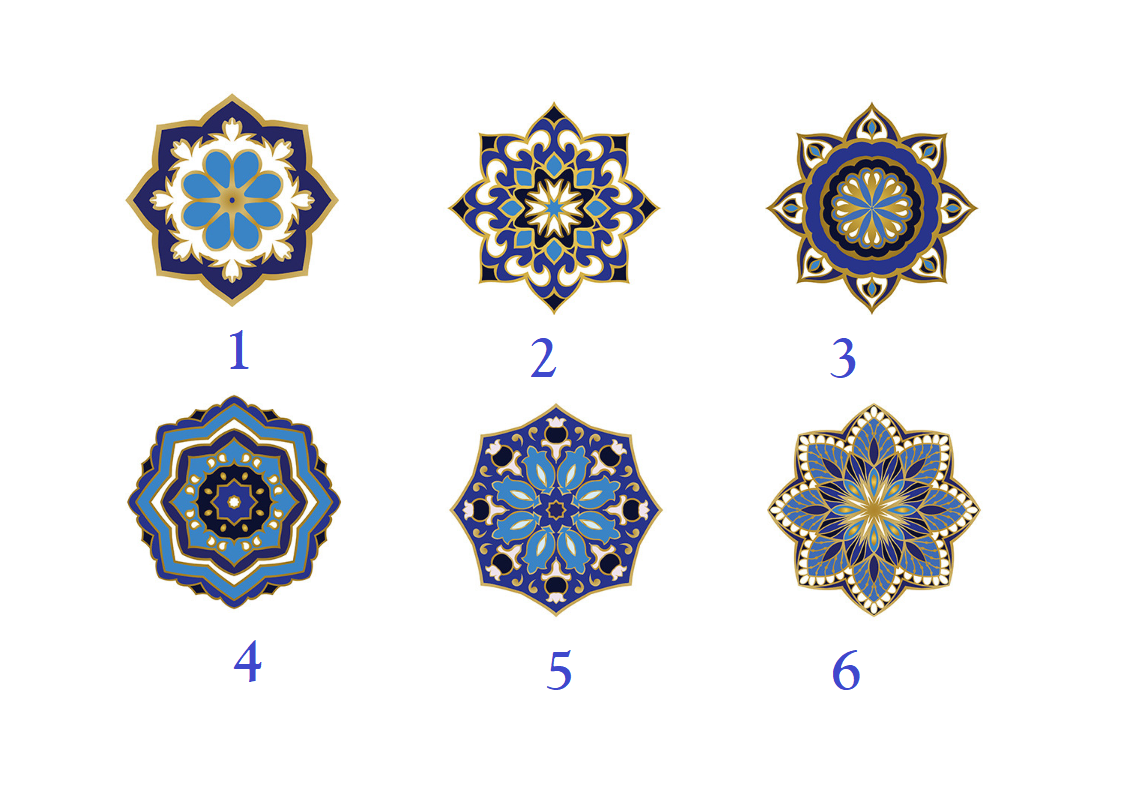 Choose a Mandala To Get Free Prophetic Message