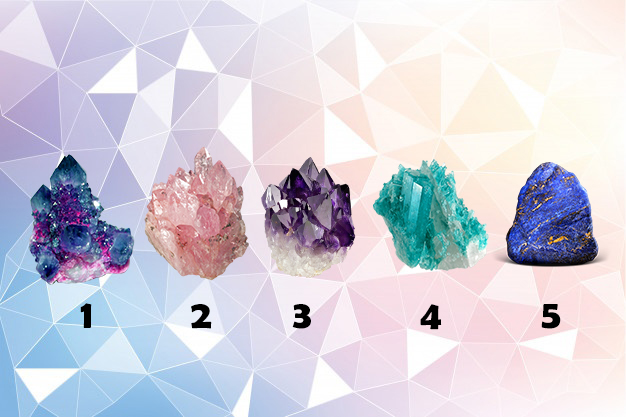 Choose a Healing Crystal To Receive A Oracle Reading