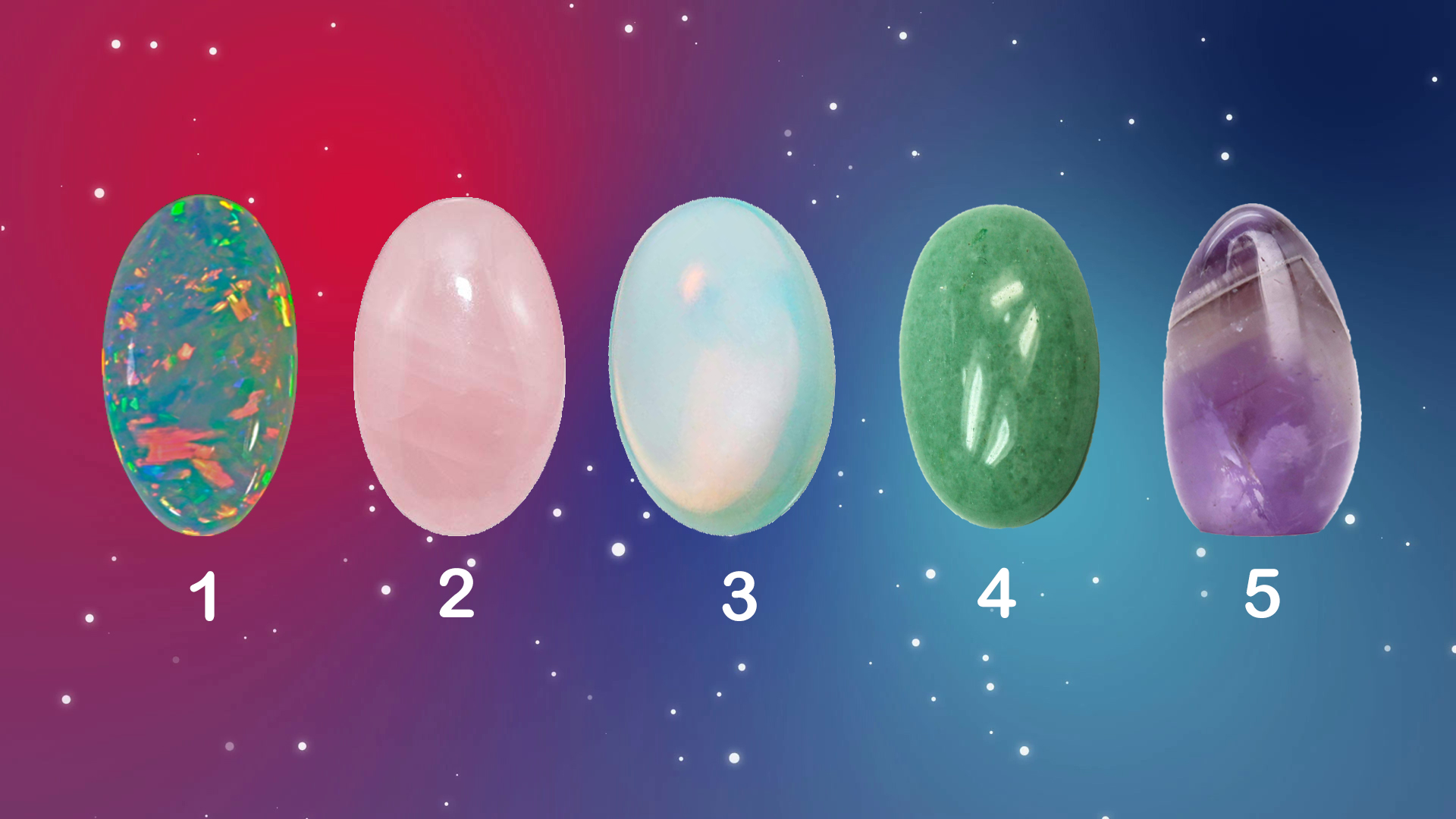 Choose a Crystal to Get a Psychic Reading