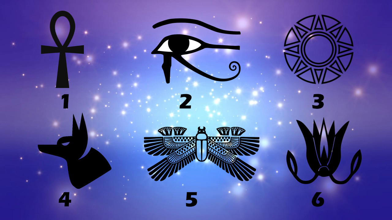 Pick a Egyptian Symbol to Get Free Reading.