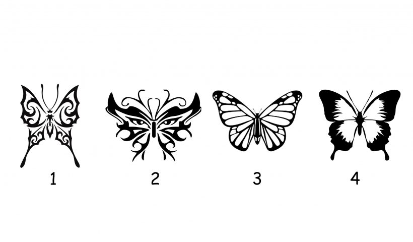 Choose a Butterfly to Reveal Psychic Message