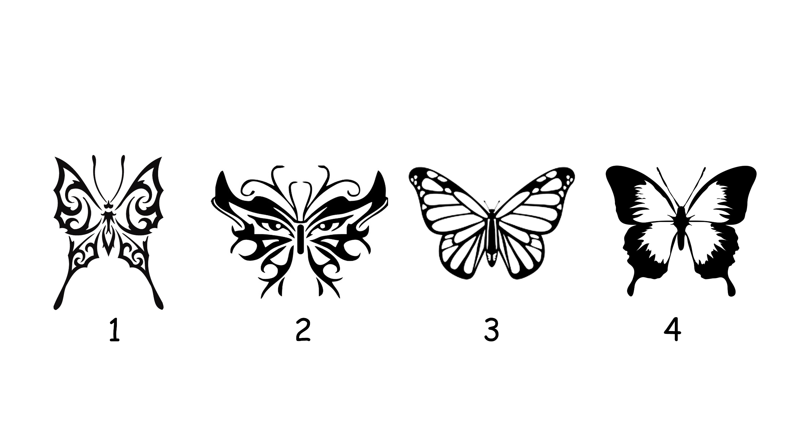 Choose a Butterfly and Reveal Prophetic Message