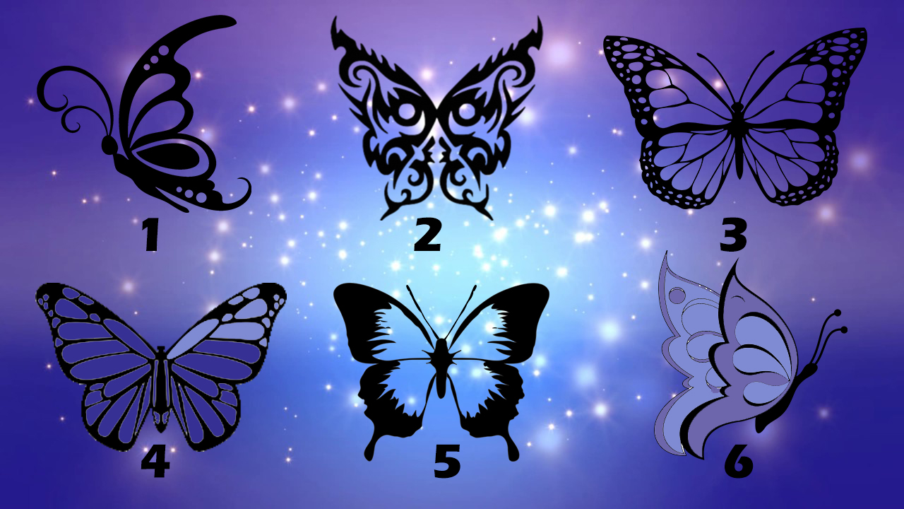 Pick a Butterfly To Get a Message You Need To Hear.