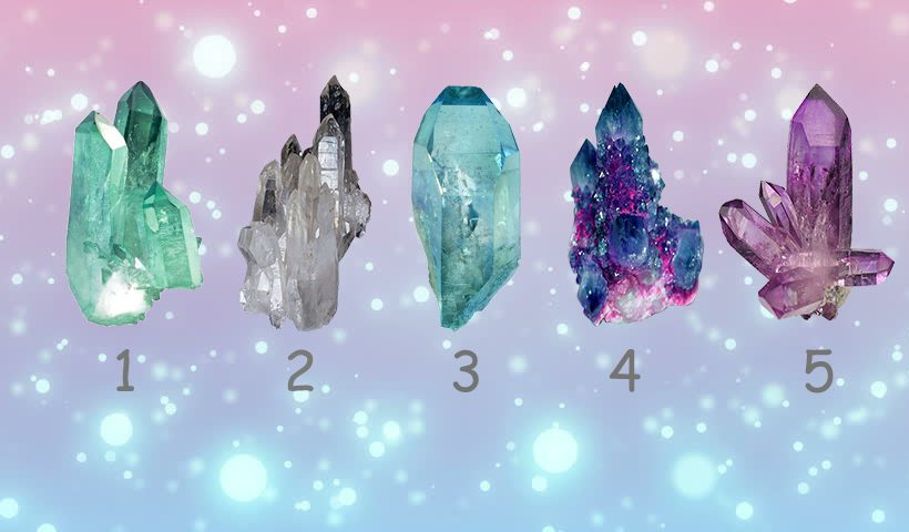 Pick a Healing Crystal to Receive Advice About Your Current Situation