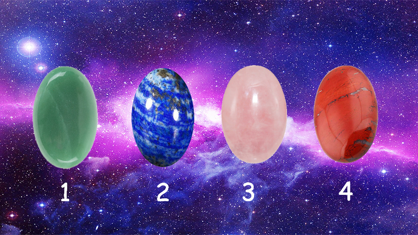 Choose a Healing Crystal to Define Your Strongest Power.
