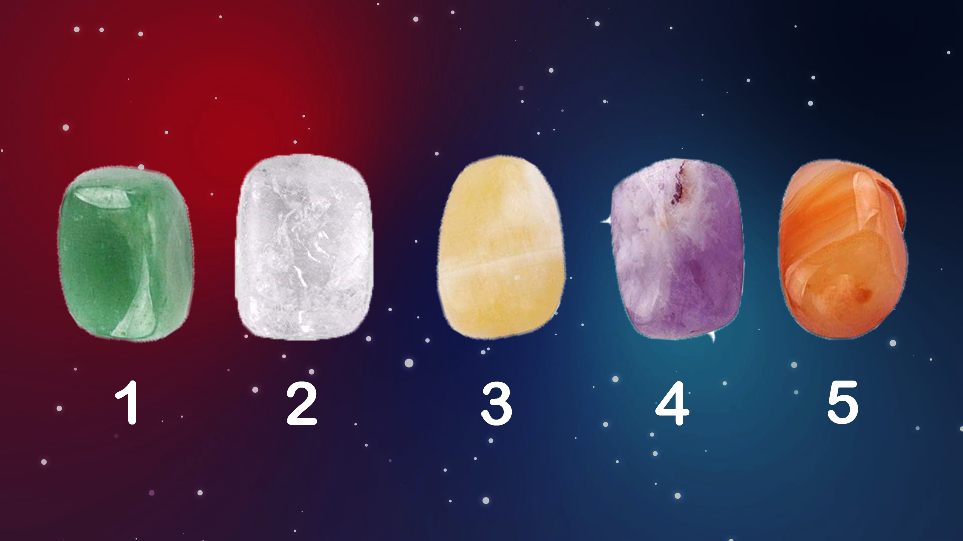 Pick The Crystal to Receive a Psychic Reading