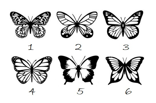 Choose a Butterfly to Get a Psychic Message