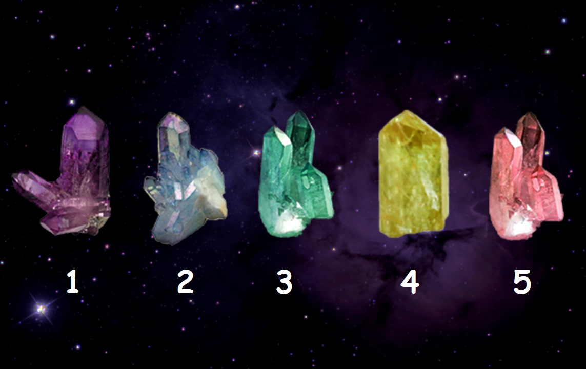 Choose a Crystal For Oracle Reading and Guidance