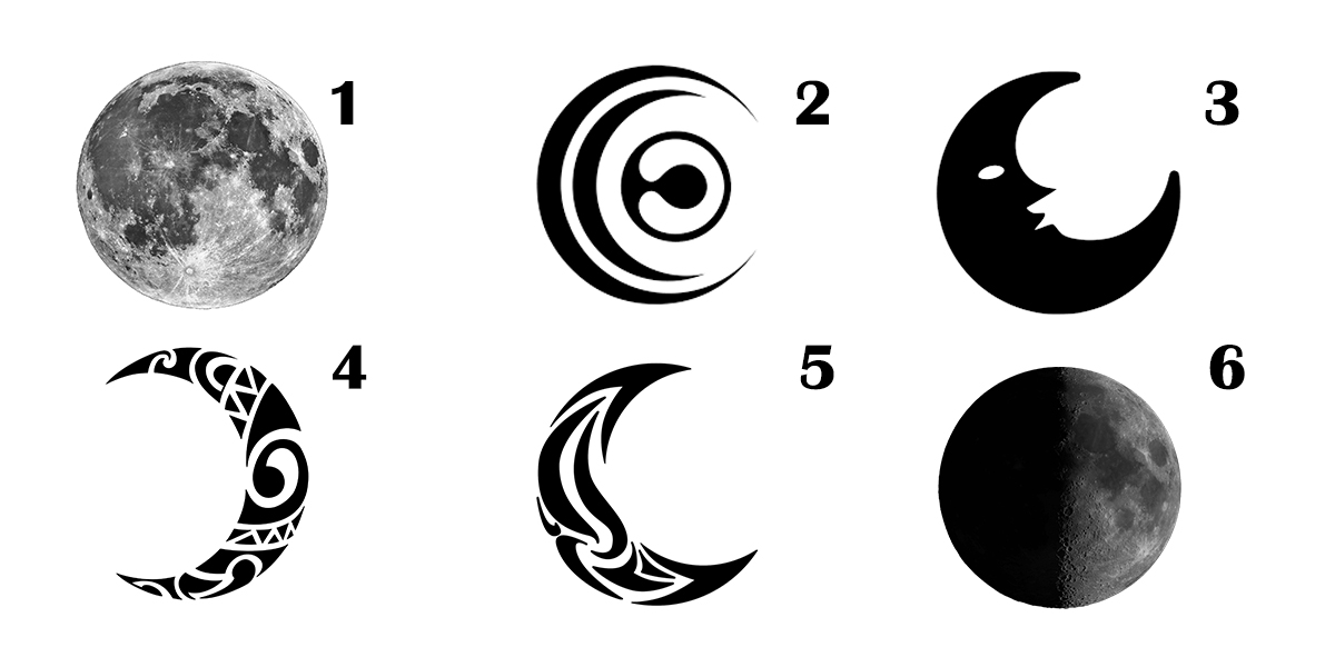 Choose a Moon and get your Powerful Spiritual Message