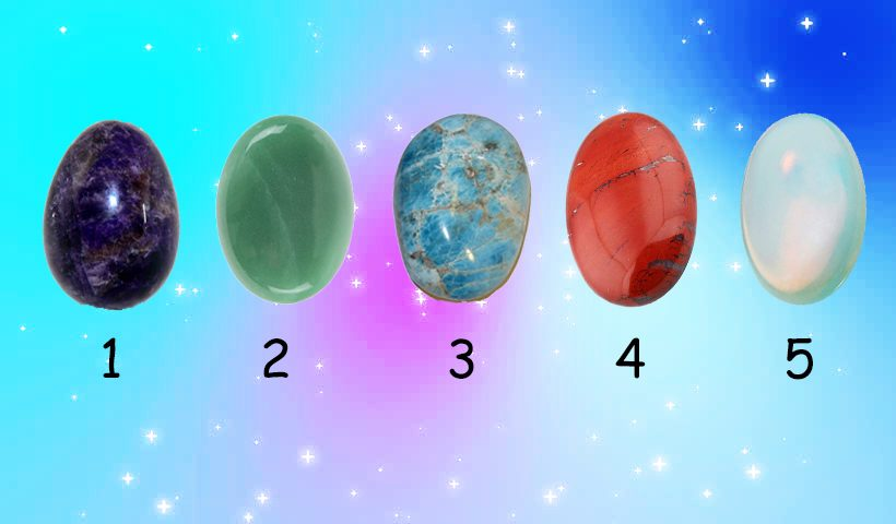 Choose a Crystal To Receive Intuitive Reading
