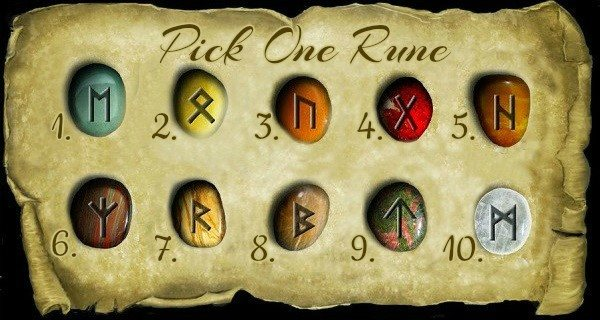 Pick a Rune and Discover Its Message For You.
