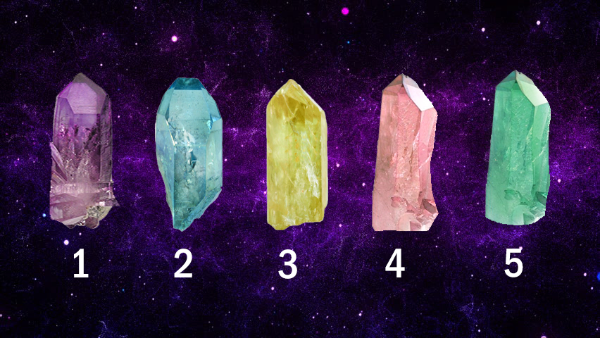 Pick a Crystal and Receive a Message From Holy Spirit