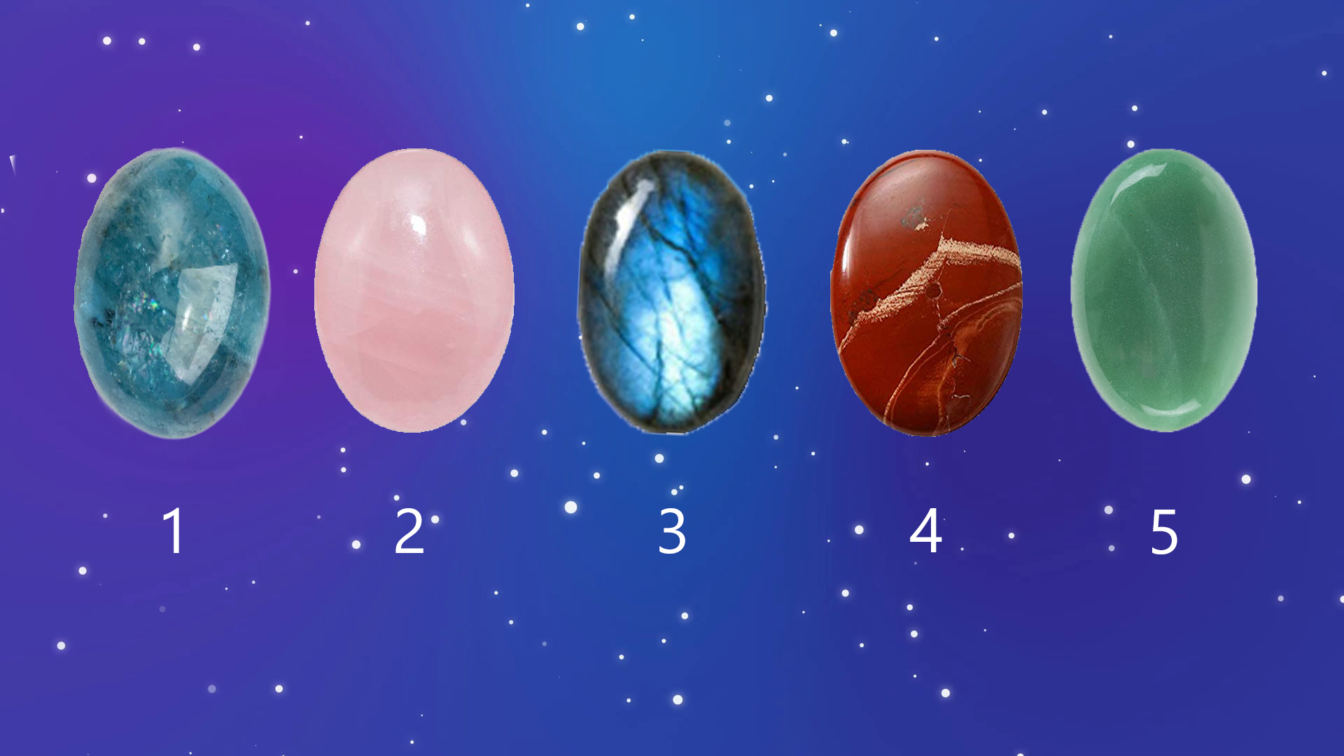 Pick a Crystal to Get a Psychic Reading for Free