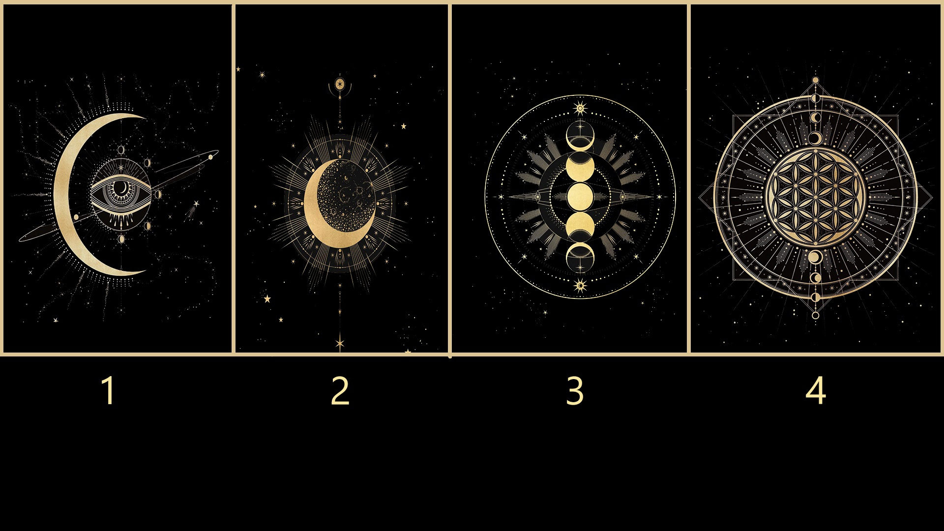 Pick a Moon Card to get a Psychic Message