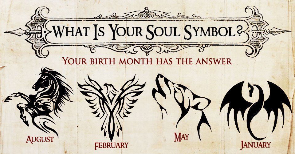 Your birth Month Reveals Your Soul Symbol