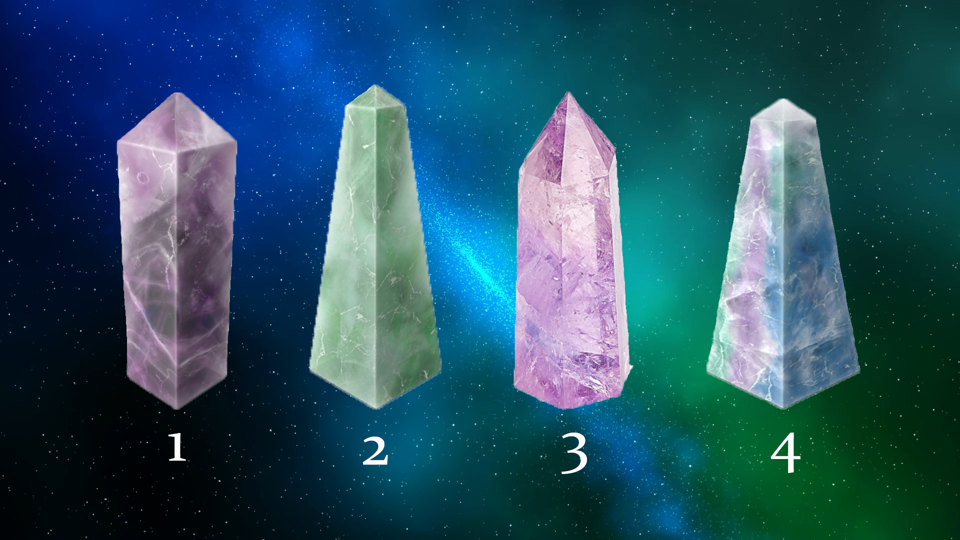 Choose your Crystal to Receive a Psychic Reading