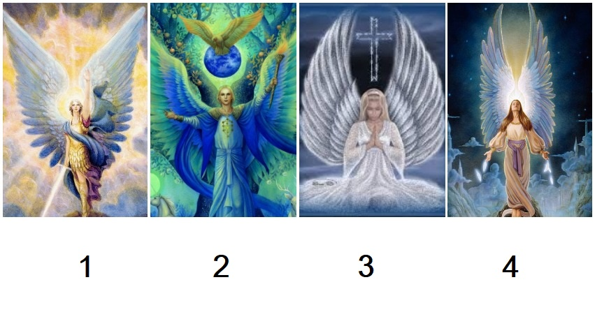 Pick an Guardian Angel to Get Your Healing Message