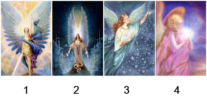Pick an Angel to Receive a Blessed Surprise