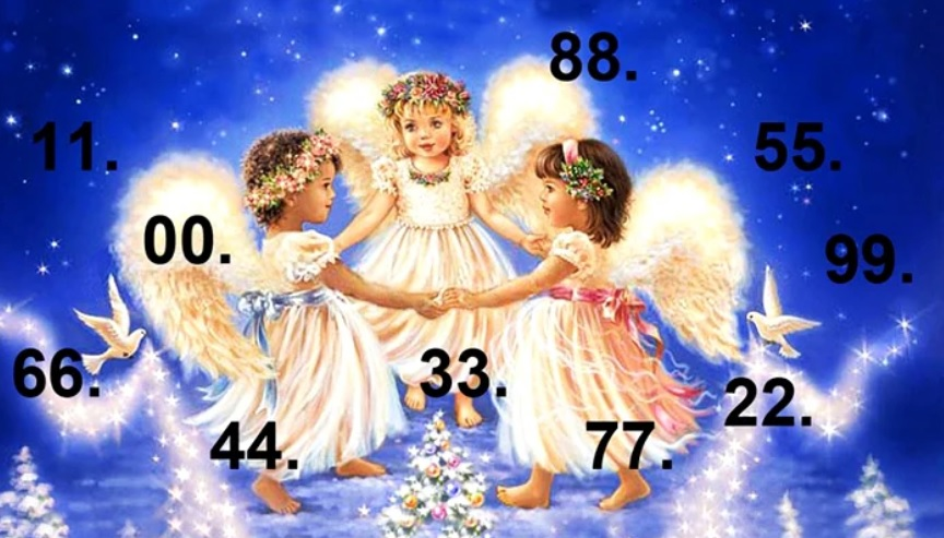TEST: Pick a Pair of Numbers to Receive a Message From Your Angels