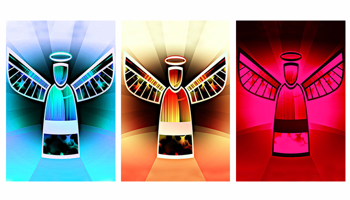 Choose an angel and read your angelic message for the end of the year