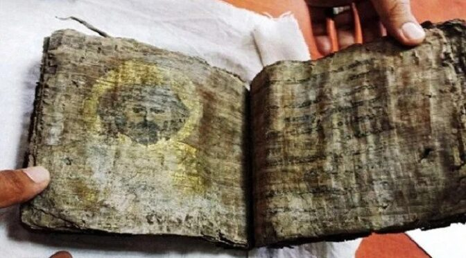 2,000-Year Old Bible Found In Turkey Shows Images of Jesus