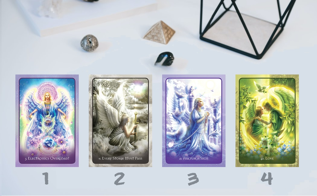 Pick a Angel Card to Get a Oracle Reading