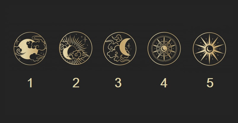 Pick a Moon Symbol to Get a Psychic Message