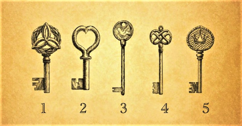 Pick a Key to Reveal a Psychic Message