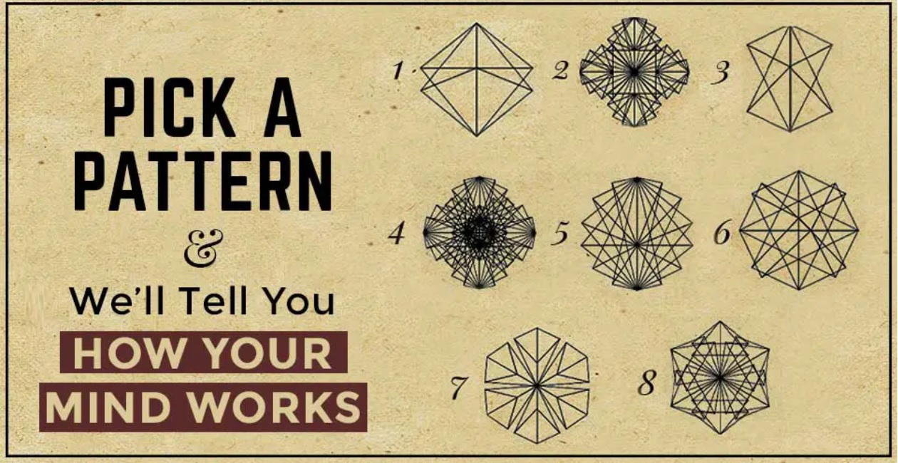 Pick A Pattern to Find Out How Your Mind Works