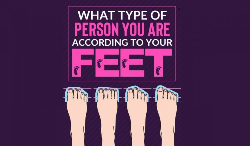 What Type of Feet Yall Have? Reveals a Type of Personality