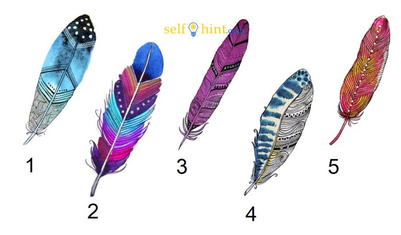 Pick A Feather to Get Psychic Message