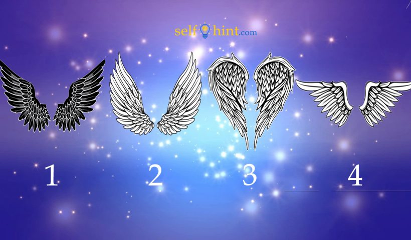 Pick a Angels Wings to Get Healing Message