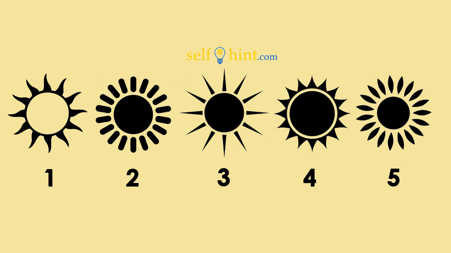 Pick a Sun to Receive Psychic Prediction