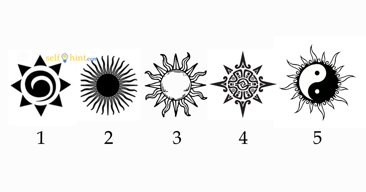 Pick a Sun to Reveal Important Psychic Message