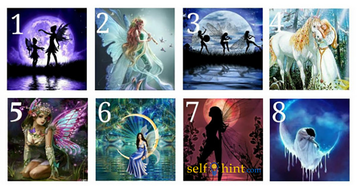 Pick a Fairy to Reveal a Positive Message