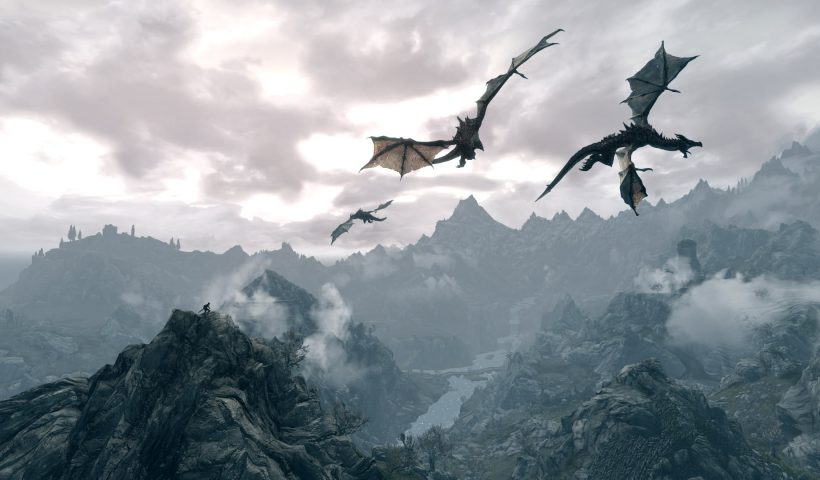 Flying Dragons Do Exist