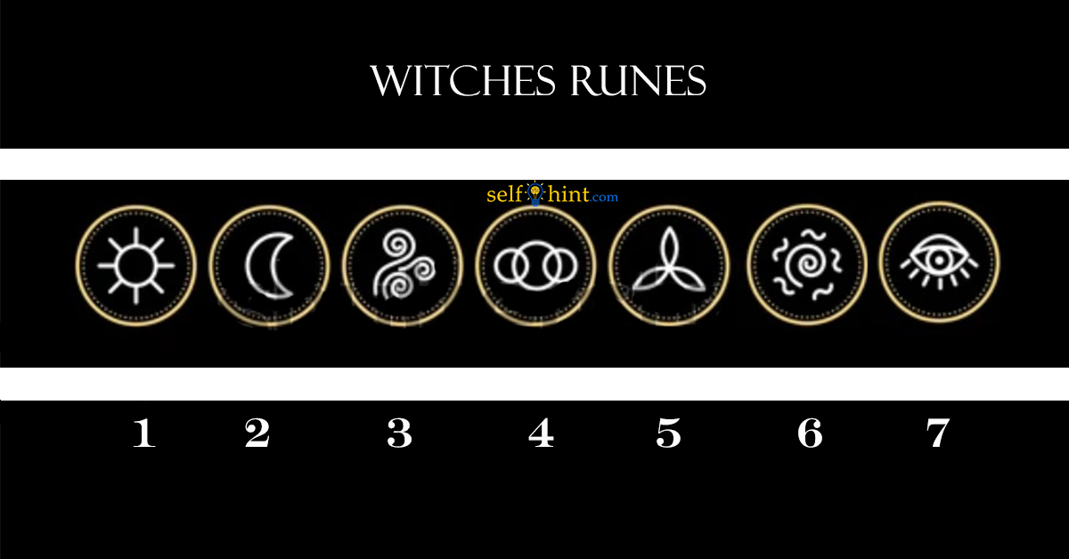 Pick a Witches Rune to Point You The Right Direction